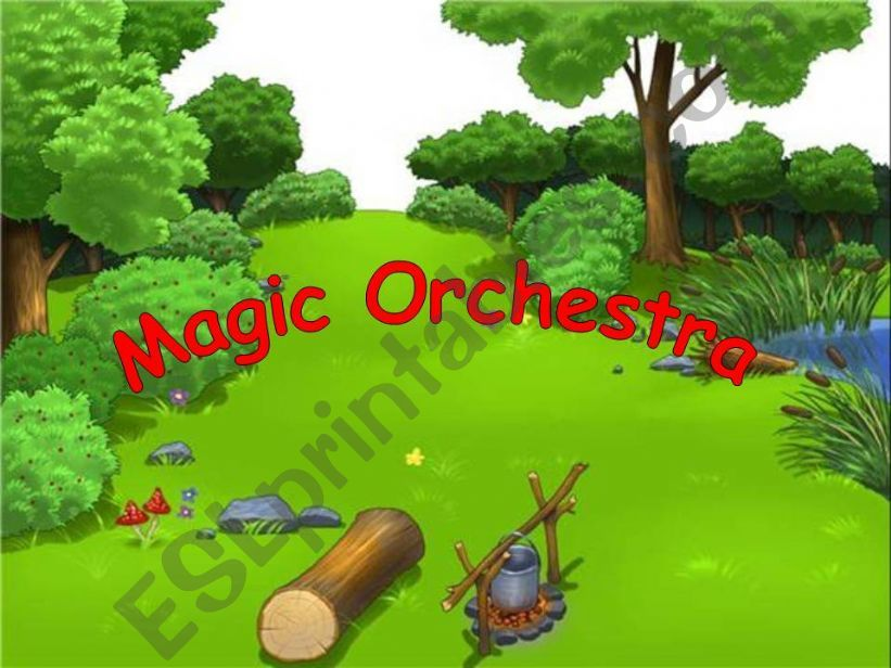 Magic orchestra powerpoint