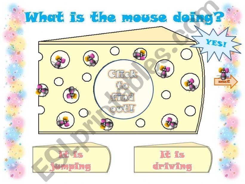 WHAT IS THE MOUSE DOING? - Part 2 -