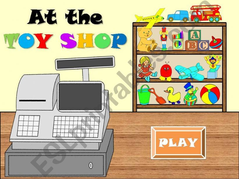 AT THE TOY SHOP powerpoint