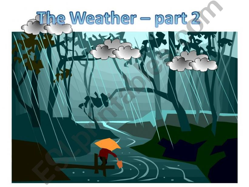 The Weather - Part 2 powerpoint