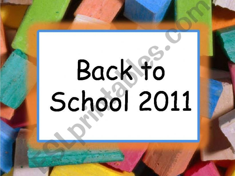 Game - Back to school - Hidden picture (part 1)