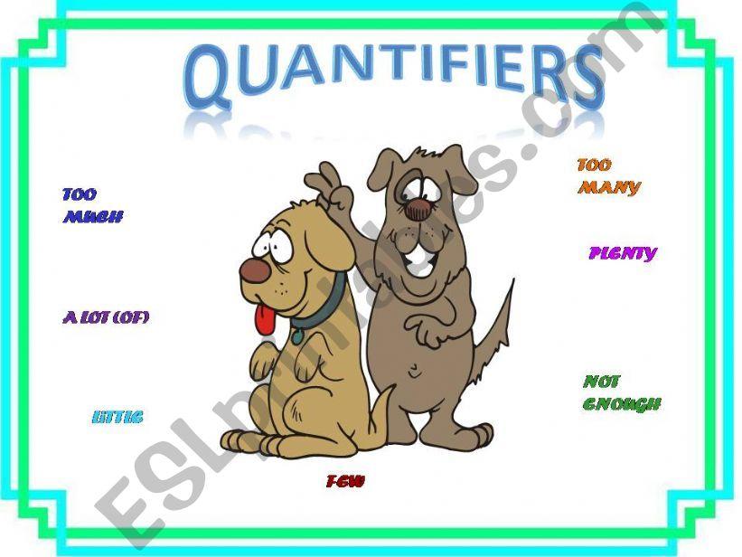 Quantifiers powerpoint