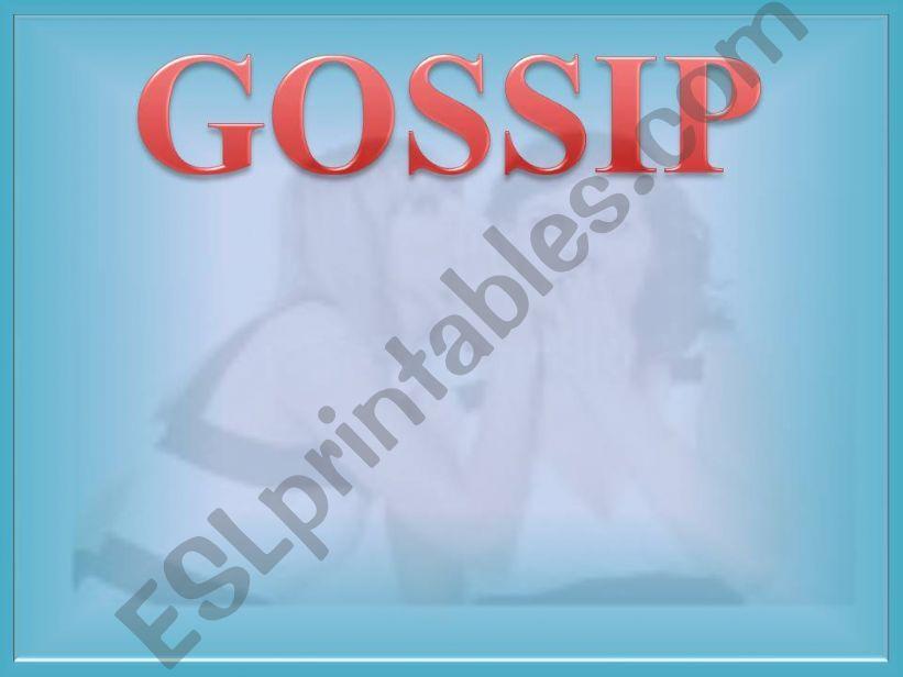 Gossip powerpoint