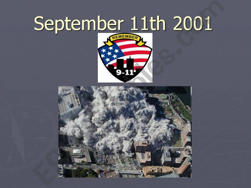 Sept 11th attacks - multiple choice questions- editable