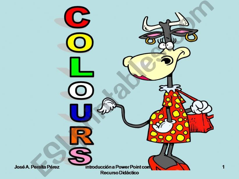 Colours powerpoint