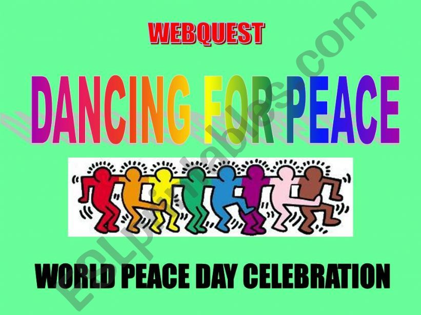 Dancing for Peace powerpoint
