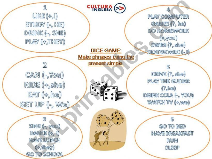 Dice game powerpoint