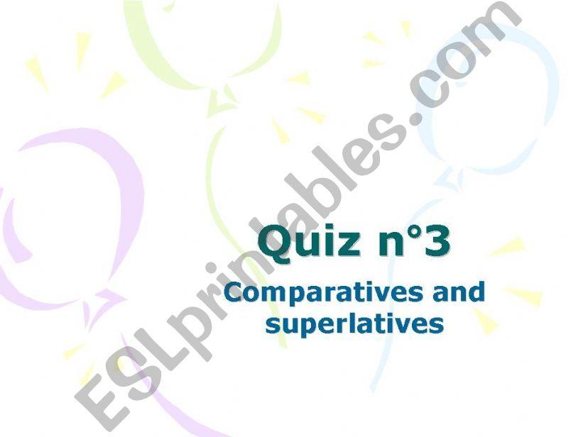 quiz powerpoint