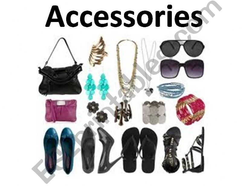 Accessories and clothings powerpoint