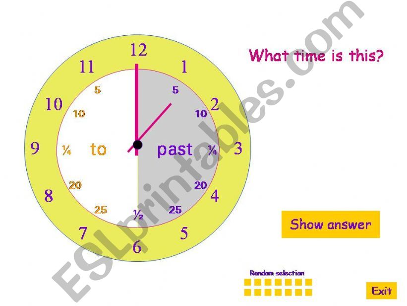 what time is this? powerpoint