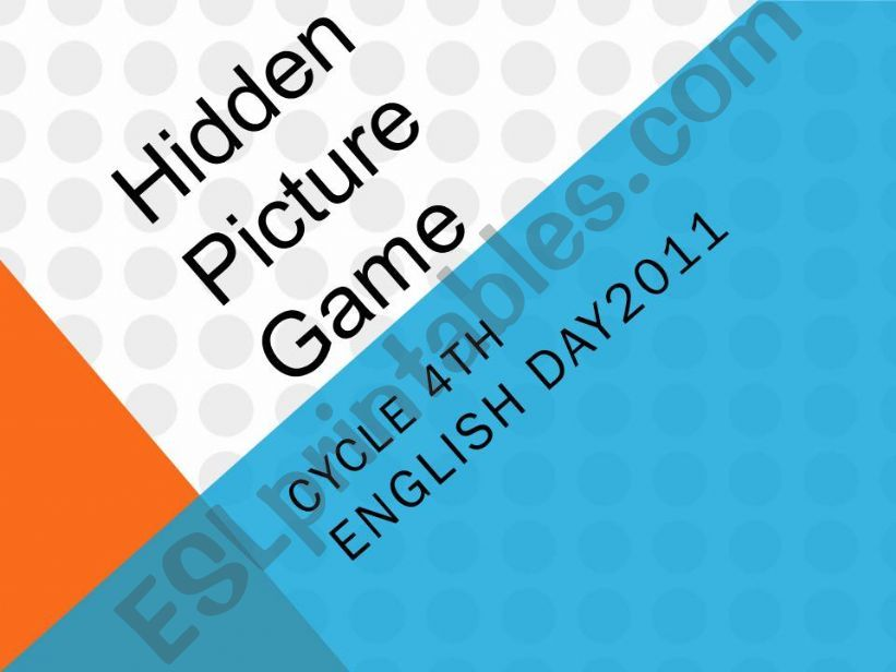 a peacemaker hidden picture game