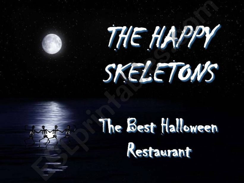 A halloween meal powerpoint