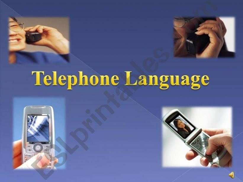 telephone language powerpoint