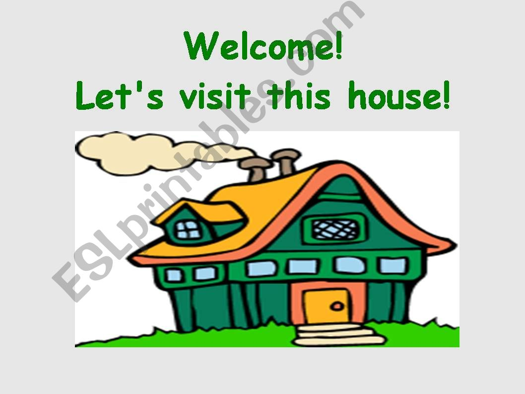 Rooms in a house powerpoint