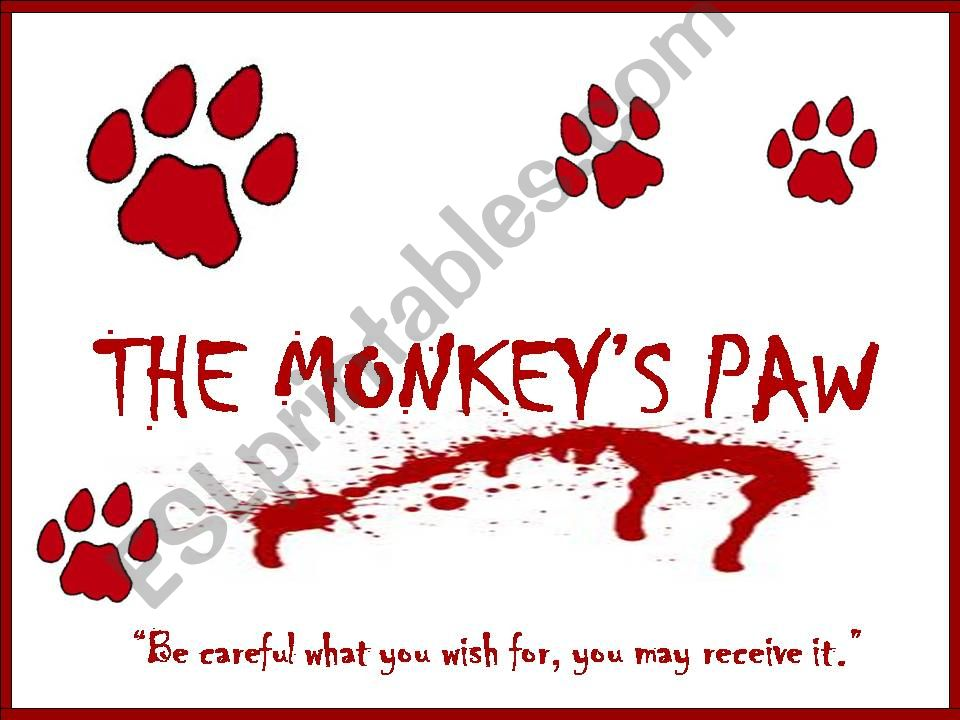 The Monkey´s Paw powerpoint