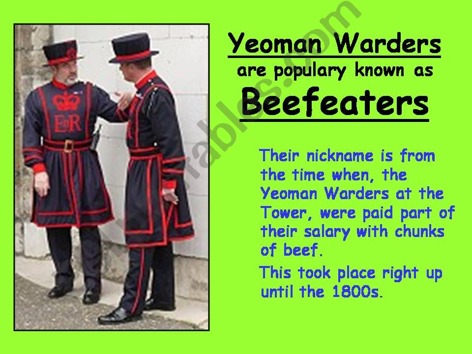 London 5  (from 10 parts) powerpoint