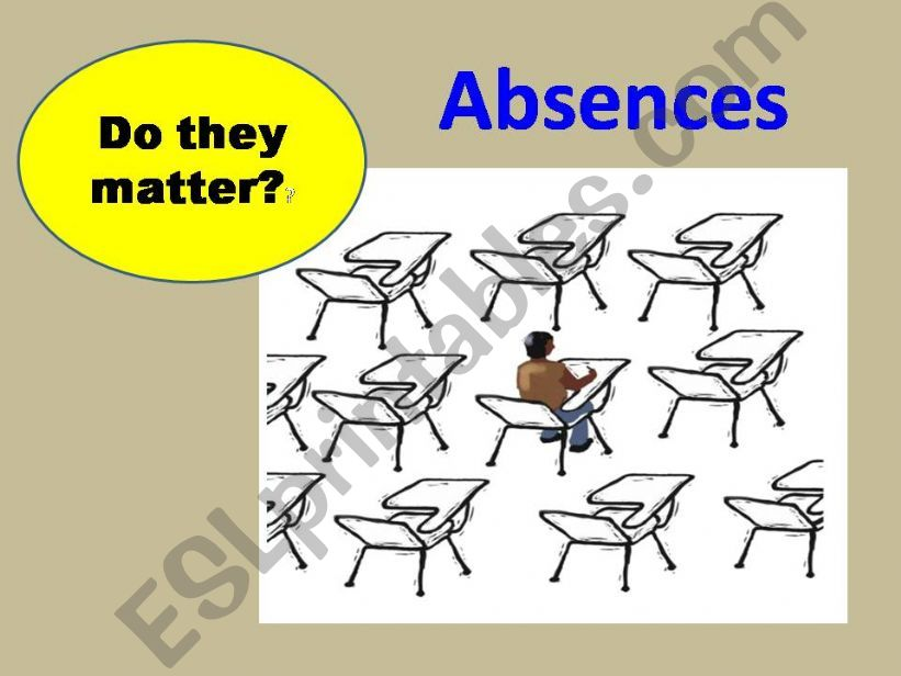 Absences powerpoint