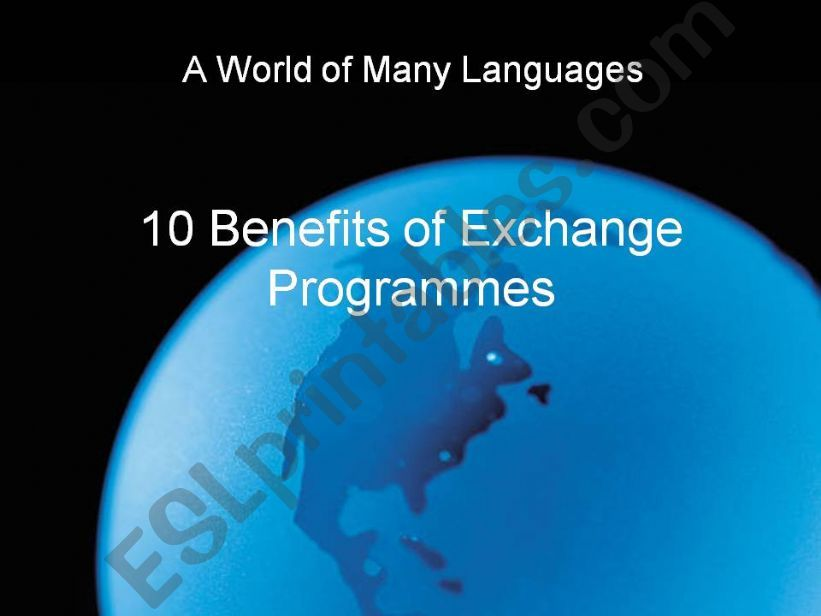 Exchange Programmes for Students