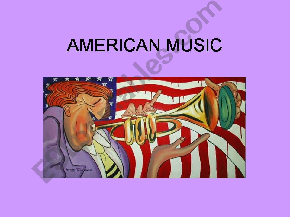 American Music powerpoint