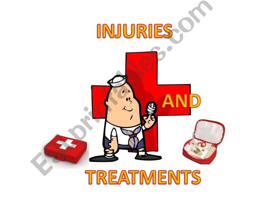Injuries and Treatments powerpoint