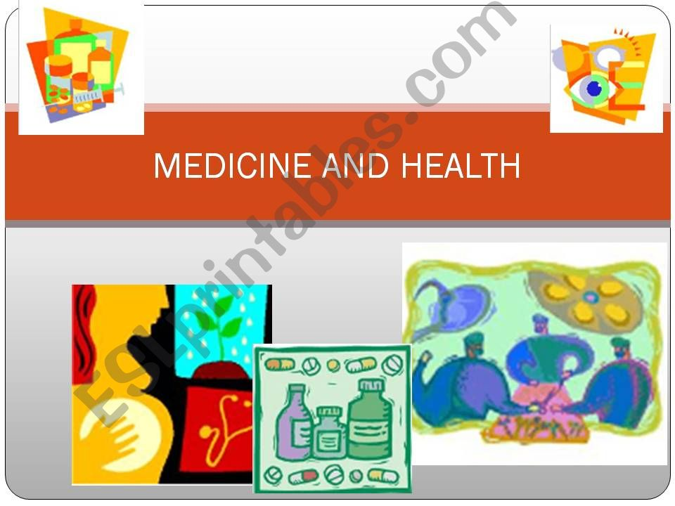 Medicine and Health powerpoint