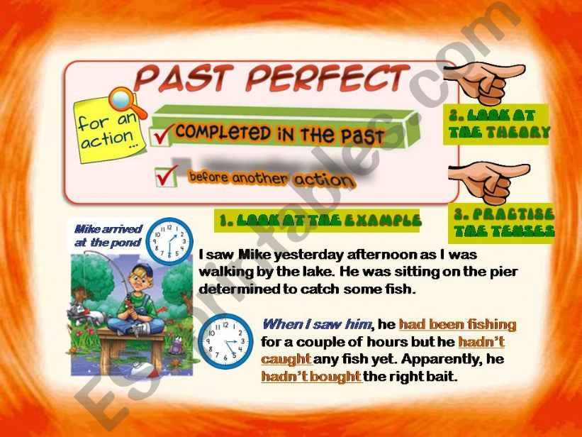 Past Perfect Simple and Continuous Part 1 of 3