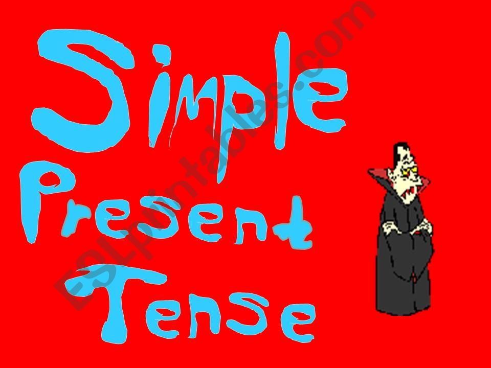 simple present tense powerpoint