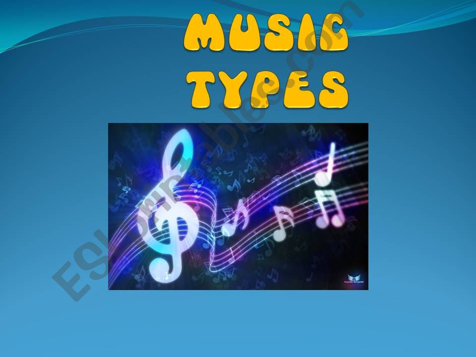 Music Types powerpoint