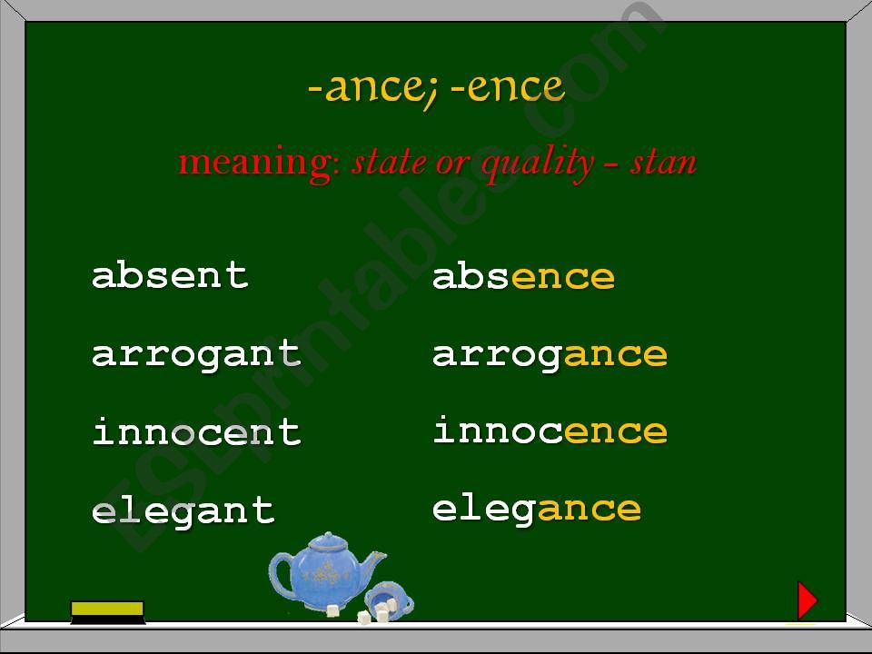 WORD FORMATION - NOUNS (PART 2 OUT OF 3)