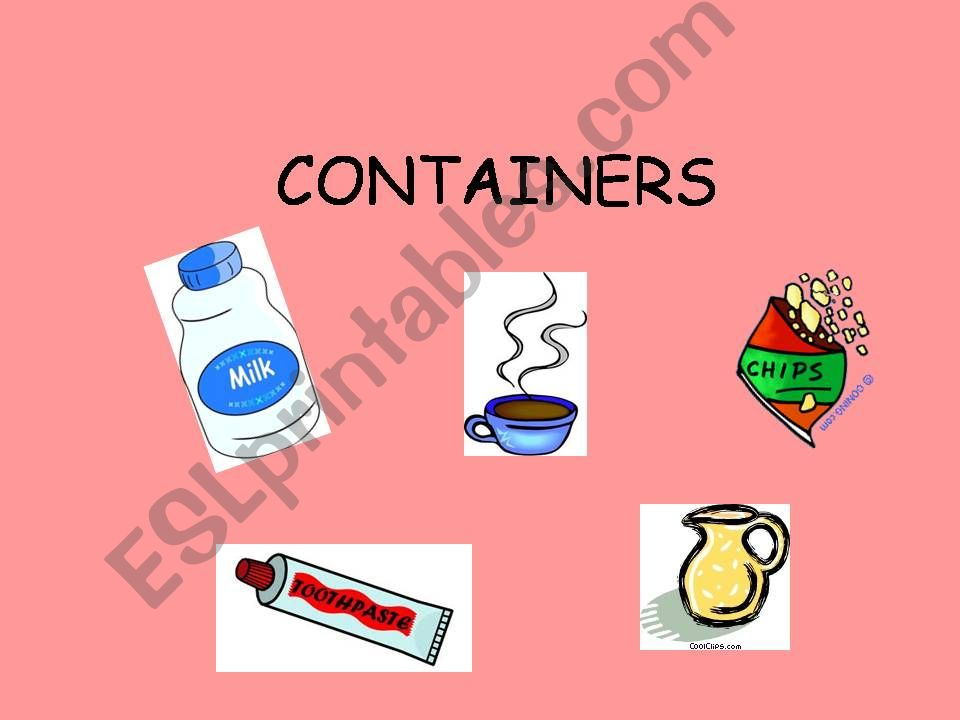 containers powerpoint