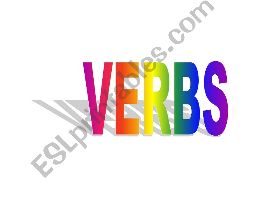 common verbs ppt powerpoint