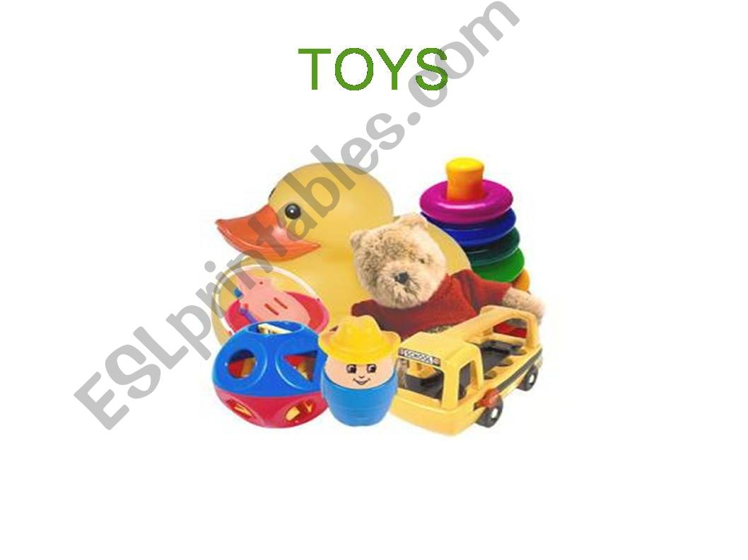 Toys PowerPoint powerpoint