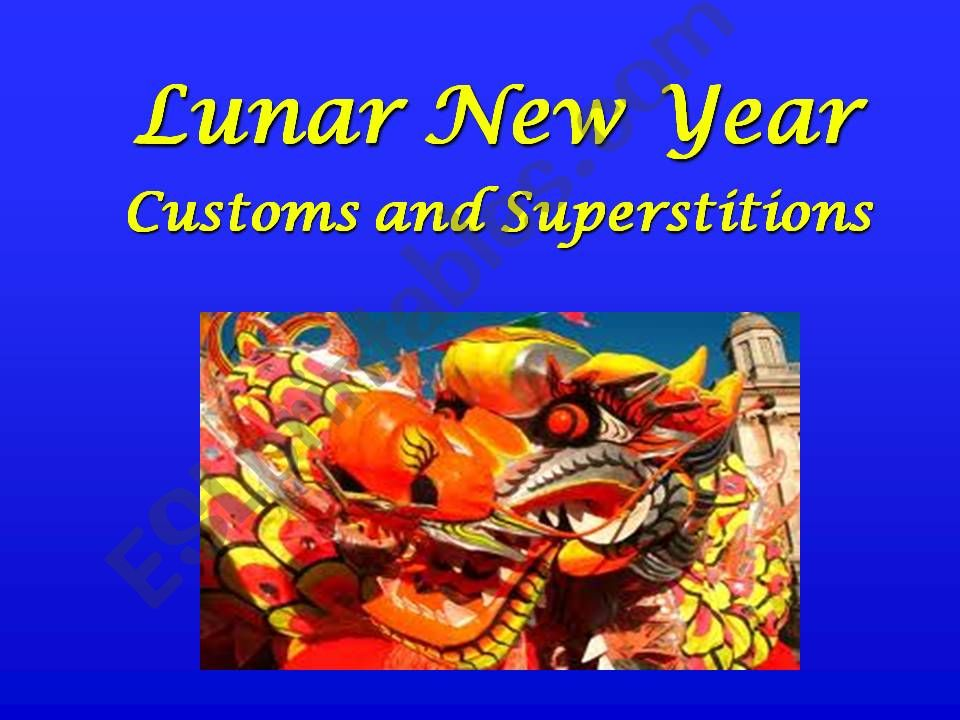 Lunar New Year (Chinese New Year)