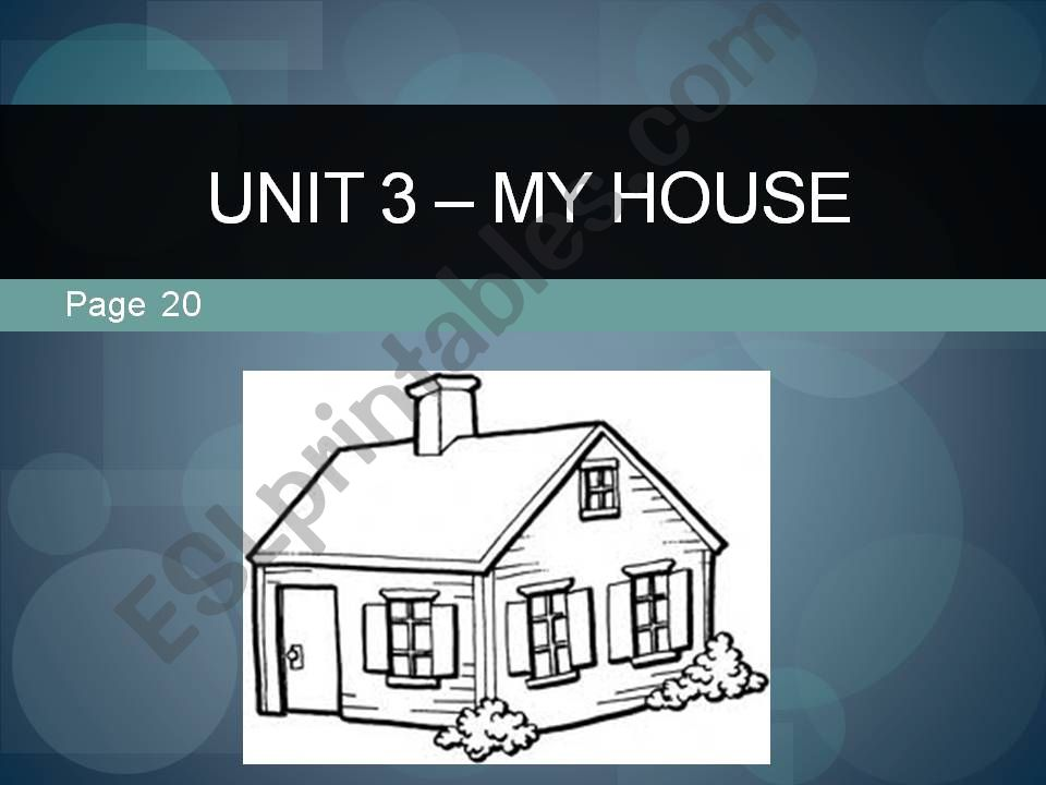 Parts of the house powerpoint