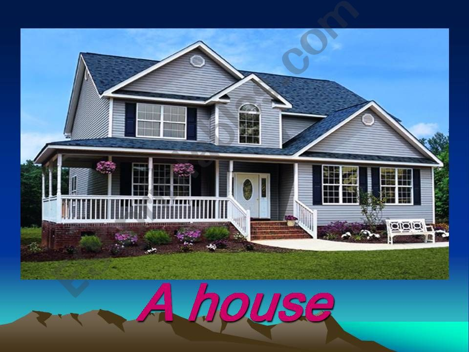 house parts powerpoint