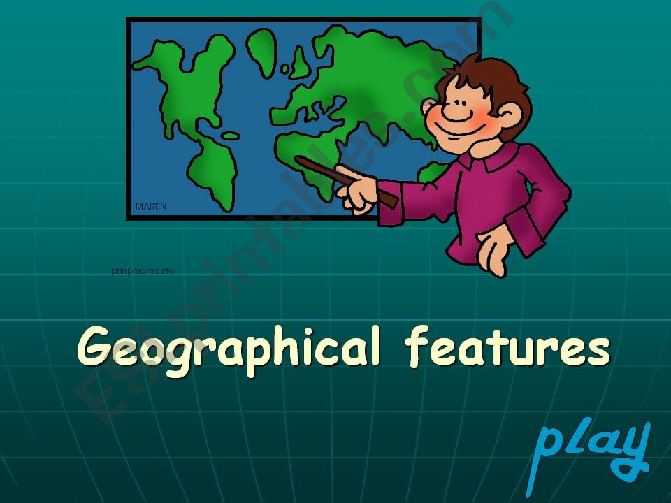 Geographical features game 2 powerpoint