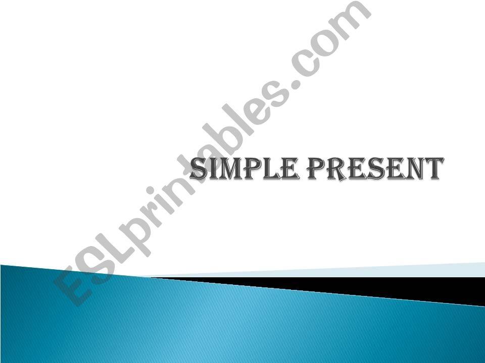 Present Tense powerpoint