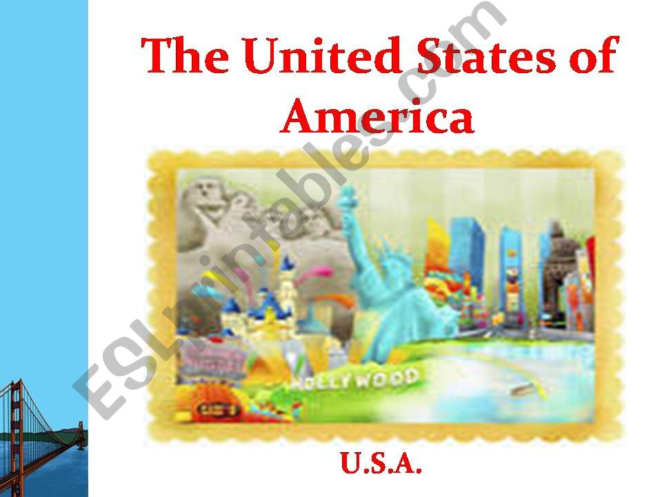 the United States of America powerpoint