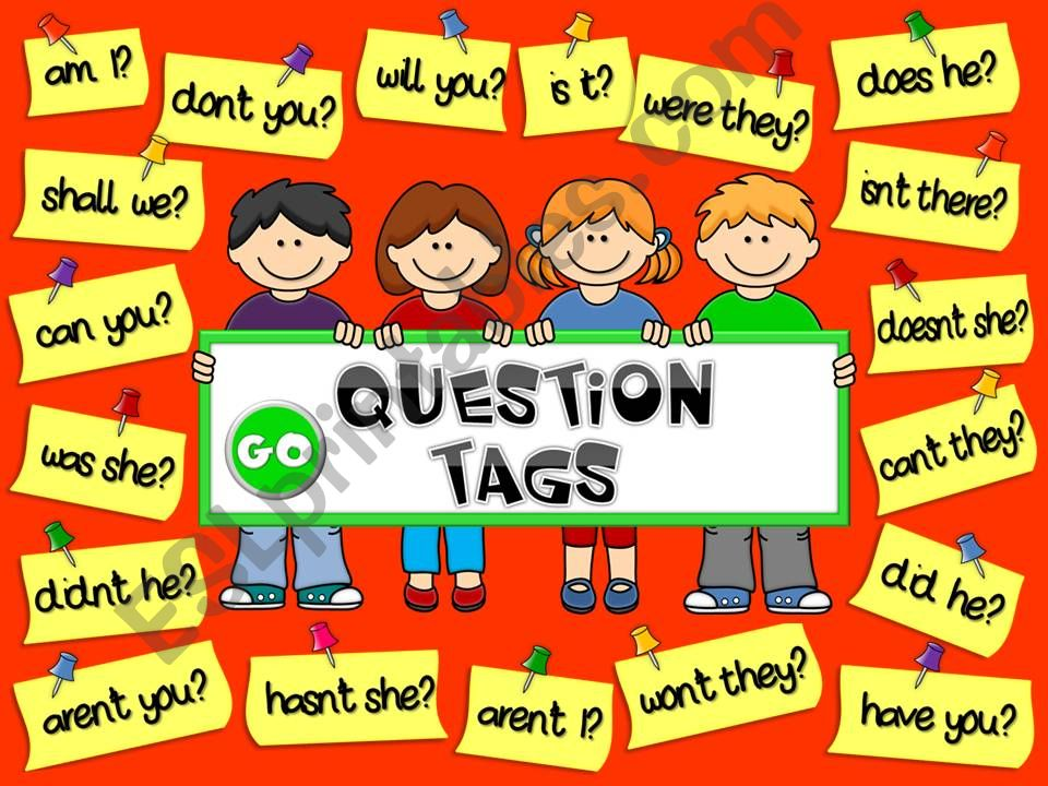Question tags - GAME (1) powerpoint