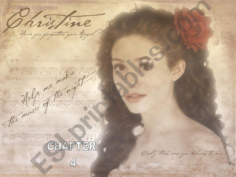 the phantom of the opera - chapter 4