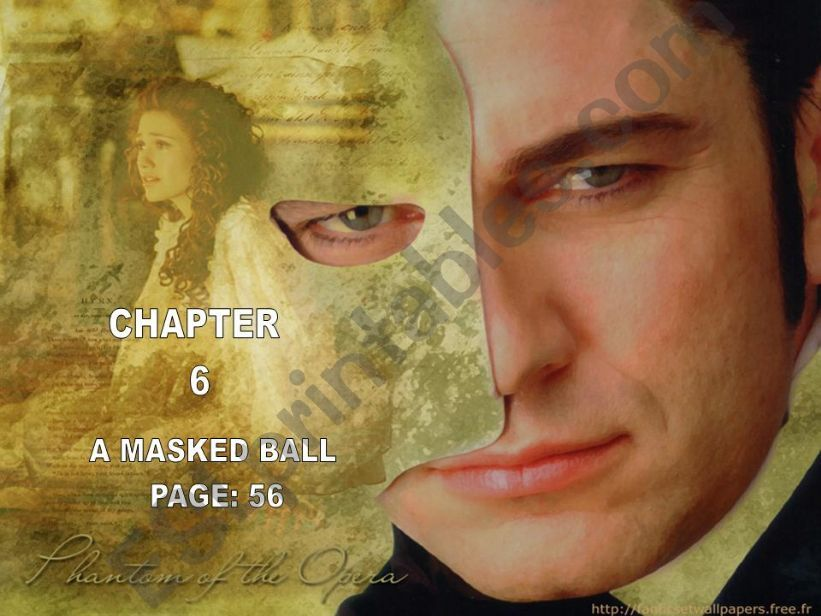the phantom of the opera - chapter 6