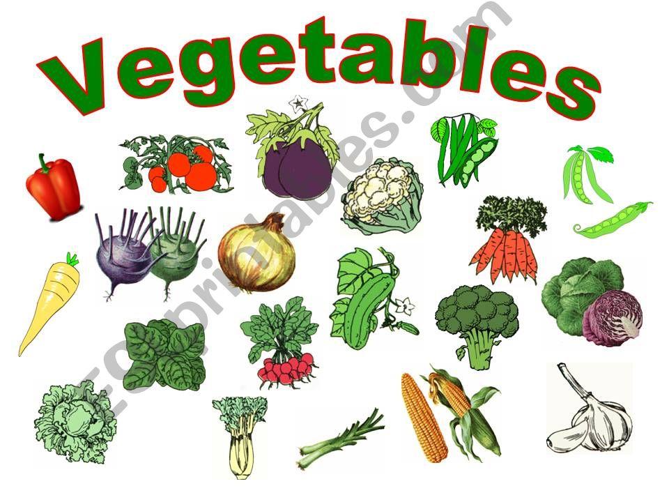 Vegetables powerpoint