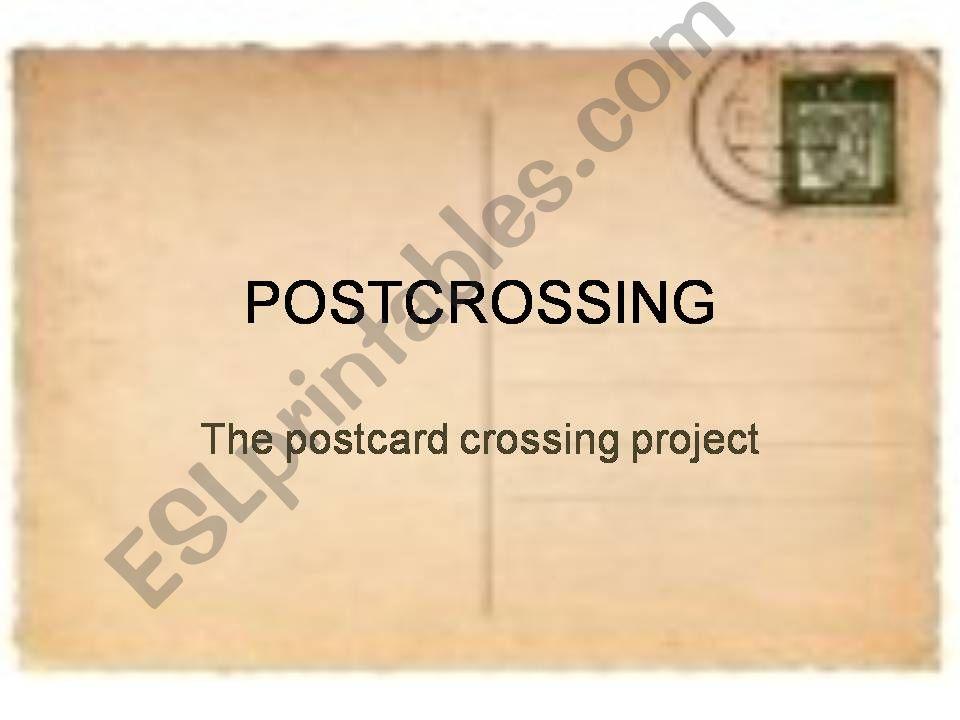 Postcrossing powerpoint