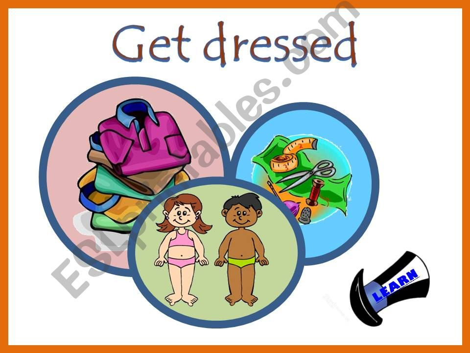 Get dressed - Part one powerpoint