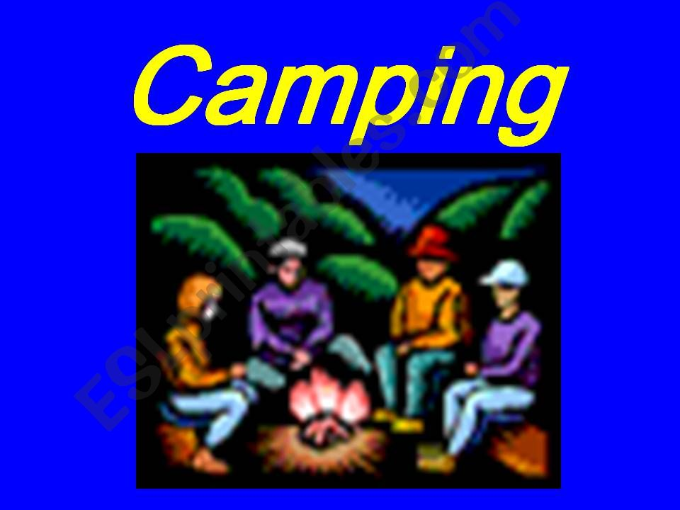 camping powerpoint