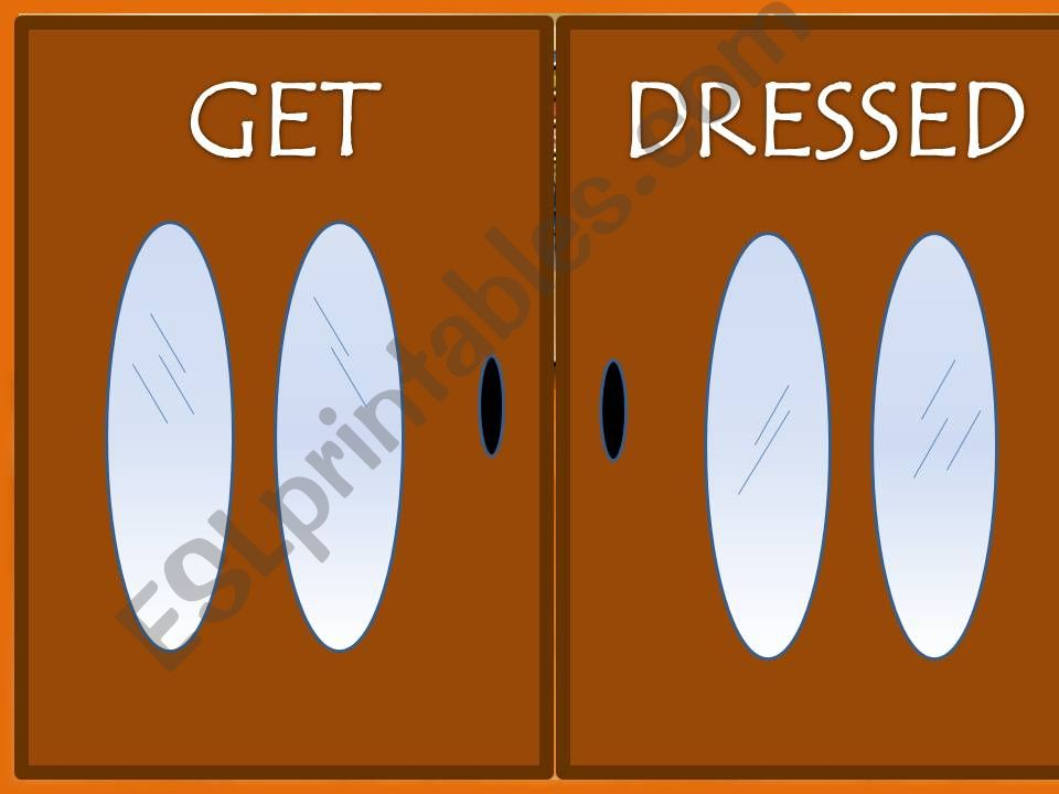 Get dressed - Part two powerpoint