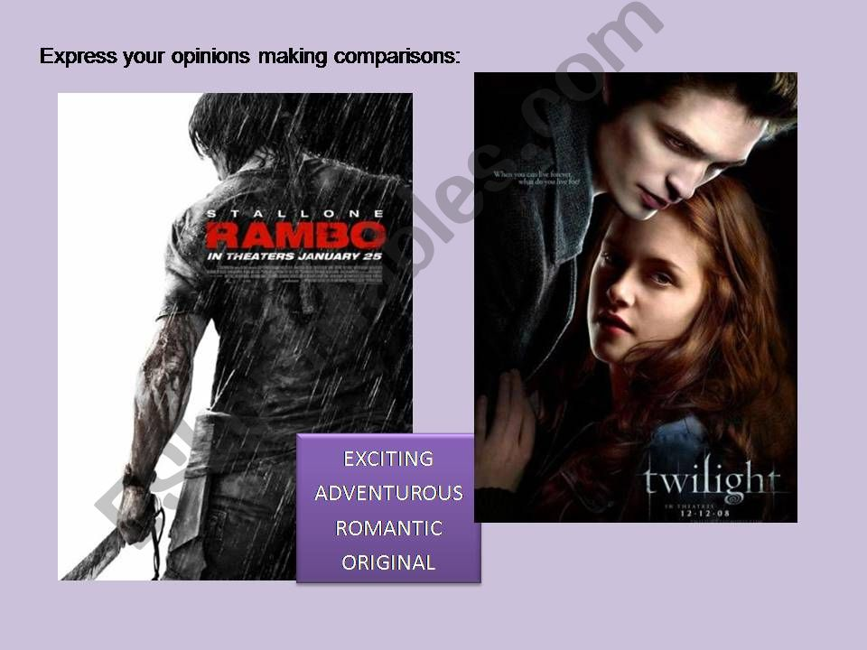 Making comparisons powerpoint