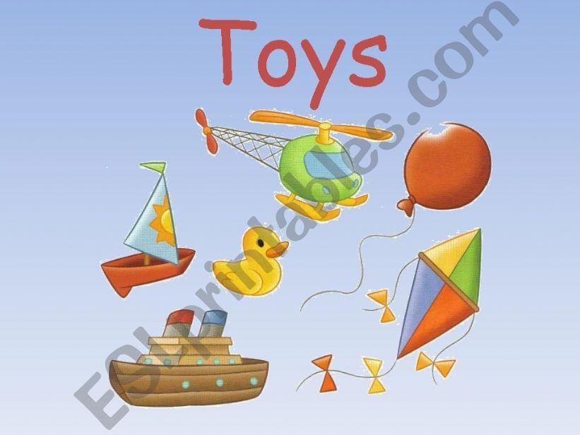 Toys powerpoint