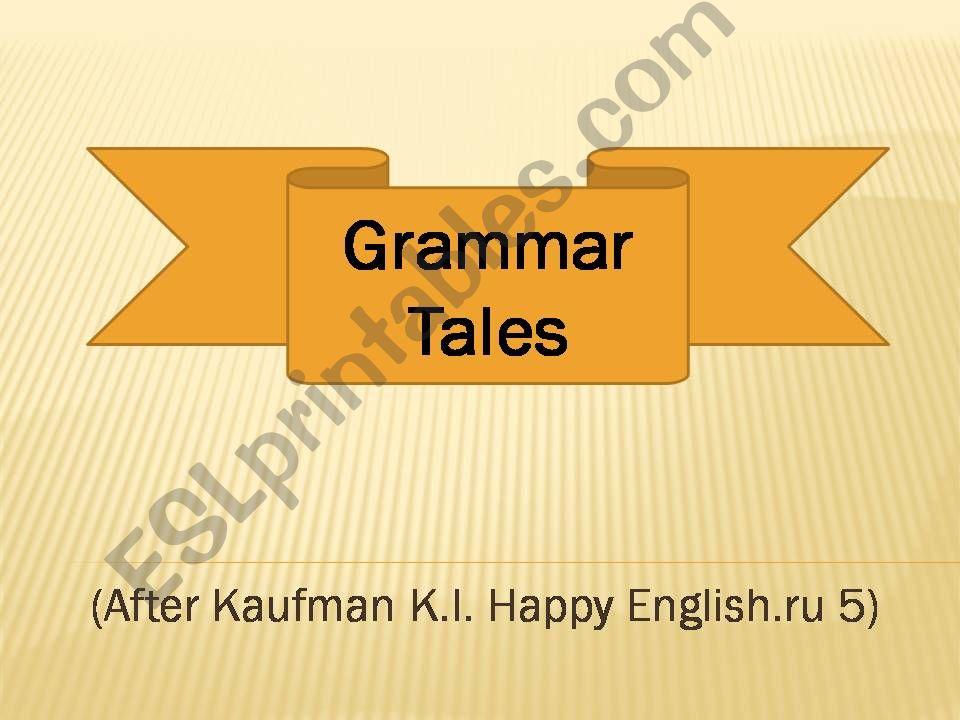 Grammar Tales powerpoint