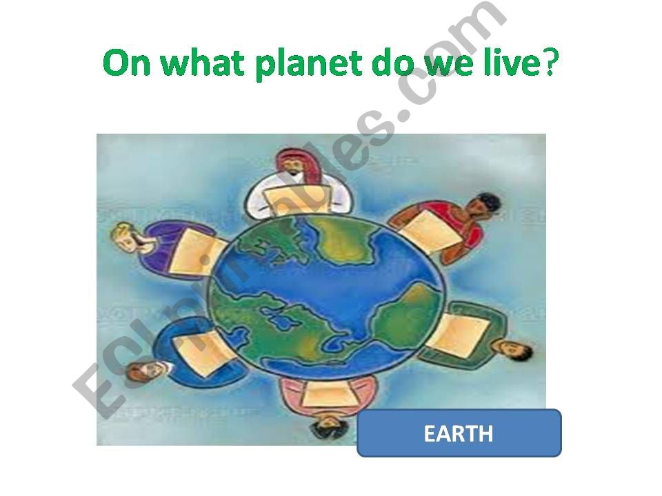 OUR ENVIRONMENT powerpoint